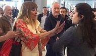 Havalimanında Personele Hakaret Eden Kadın Tepkilerin Odağında