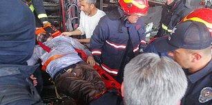 Bursa'da Fabrikada Patlama: Yaralılar Var