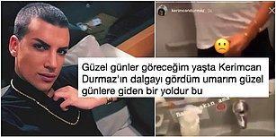 Kerimcan Durmaz'ın Yanlışlıkla Yayınladığı Uçak Tuvaletindeki Müstehcen Görüntülerine Gelen İlginç Yorumlar