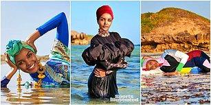 Halima Aden, Ünlü Dergi Sports Illustrated'in Mayo Sayısında Yer Alan İlk Tesettürlü Model Oldu!