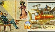 Puro Kutularına ve Kartpostallara Çizilen Gelecek: 100 Yıl Önce İnsanlar Günümüzü Nasıl Hayal Ediyordu?