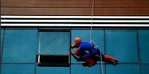 Kan Bağışına Dikkat Çekmek İsteyen Vatandaş, Örümcek Adam Kostümüyle Pencereden Girip Kan Verdi