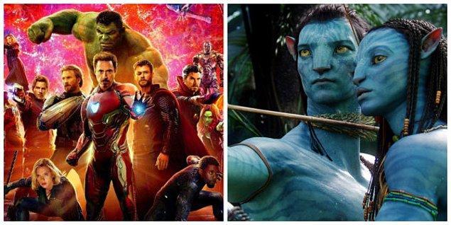 Daha önceki gişe rekoru 2.8 milyar dolar ile 2009 yapımı Avatar filmine aitti. Görünen o ki zirvedeki yerini Avengers: Endgame'e bırakacak.
