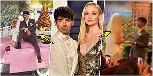 Sürpriz Nikah! Ünlü Çift Sophie Turner ve Joe Jonas Herkesten Gizli Las Vegas'ta Dünyaevine Girdi!