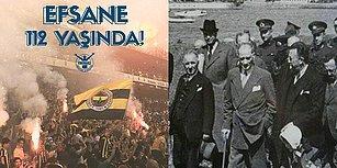Mustafa Kemal Atatürk'ün Kulübü Ziyaretinin 101. ve Fenerbahçe'nin Kuruluşunun 112. Yılı Kutlu Olsun!