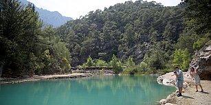 Göynük Kanyonu Doğal Güzelliğiyle Büyülemeye Devam Ediyor: 'Bu Sene Hedef 100 Bin Yabancı Turist'