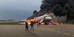 Rusya'da Acil İniş Yapan Uçak Alev Aldı: Can Kaybı 41'e Yükseldi