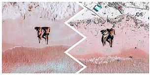 Dünya Plastik Saldırısı Altında! Gezgin Çiftin Paylaştığı, Ünlü Pembe Kumsalın Yürek Burkan Son Hali