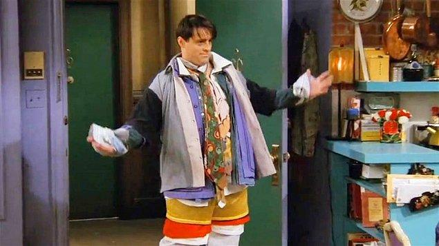 """""""Bu sayede bir sonraki sefere Friends dizisindeki Joey gibi seyahat etmek zorunda kalmaz."""""""