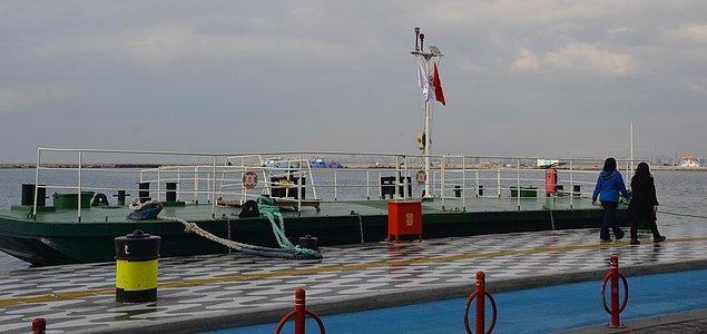 Daha önce de müze olarak kullanılan bu değerli gemi Kordon'daki yerinden alındığında geminin nerede olduğuna dair tartışmalara neden olmuştu.