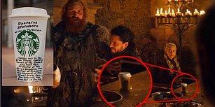 Game of Thrones'un Yeni Bölümünde Mizahşörlerin Diline Düşen Starbucks Bardağı Skandalı