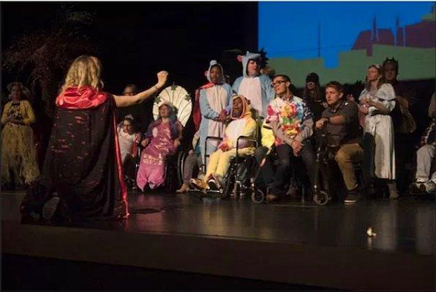 22. Engelli arkadaşlarımızın hayalini yerine getiren opera...