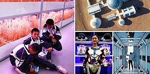 Çin'de Ziyaretçilerine Mars'ta Hayatın Nasıl Olacağını Uygulamalı Olarak Gösteren Uzay Kampı