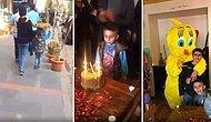Okul Harçlığı İçin Simit Satan ve Hiç Doğum Günü Kutlamamış Olan 8 Yaşındaki Çocuğa Doğum Günü Sürprizi Yapan Güzel İnsanlar