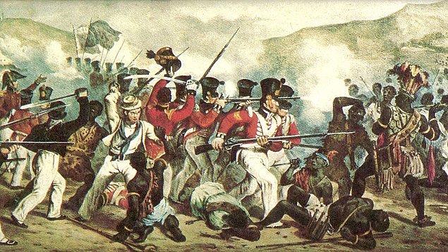 14. Dünyanın bilinen en kısa savaşı İngiliz-Zanzibar Savaşı'dır (Anglo-Zanzibar Savaşı). Birleşik Krallık ve Zanzibar arasında 27 Ağustos 1896 tarihinde gerçekleşen bu savaş, sadece 38 dakika sürmüştür.