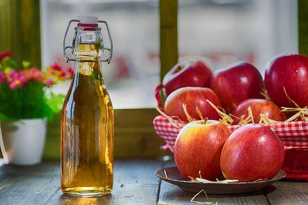 8. Elma sirkesi tüketin.