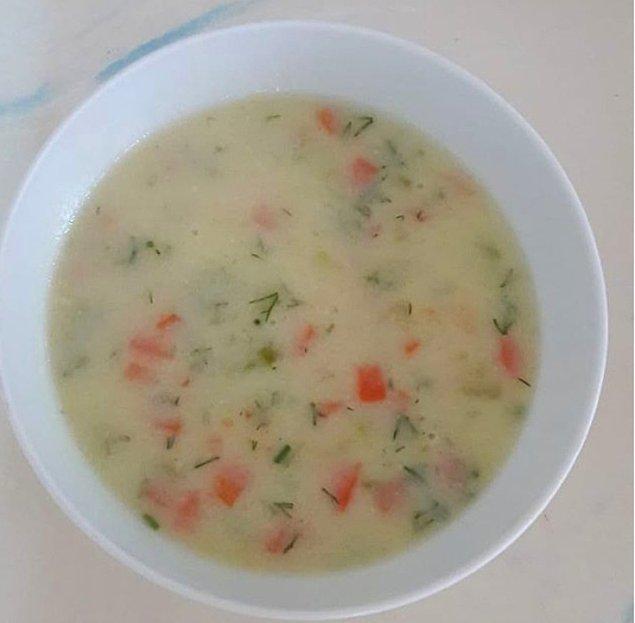 8. Kremalı Sebze Çorbası