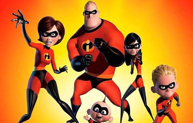 #2 İnanılmaz Aile (2004) The Incredibles
