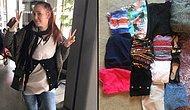 Ekstra Bagaj Parası Vermemek İçin Valizindeki 4 Kg'lık Giysiyi Üzerine Giyen Kadın