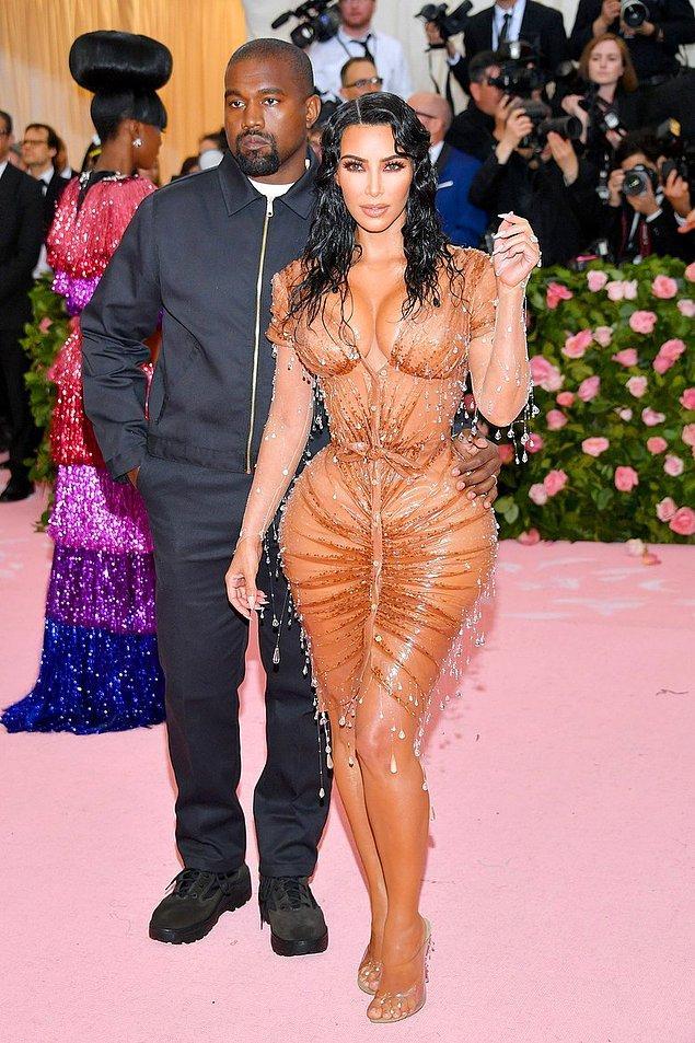 3. Kanye West ve Kim Kardashian