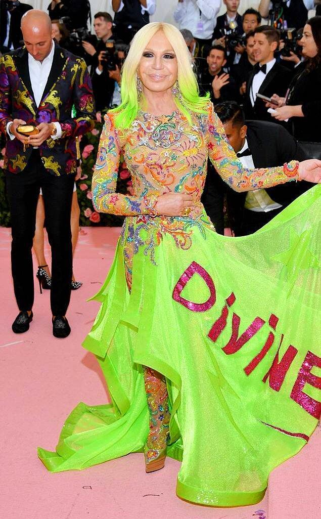 9. Donatella Versace