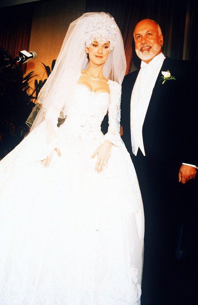 6. Celine Dion ve Rene Angelil (1994):