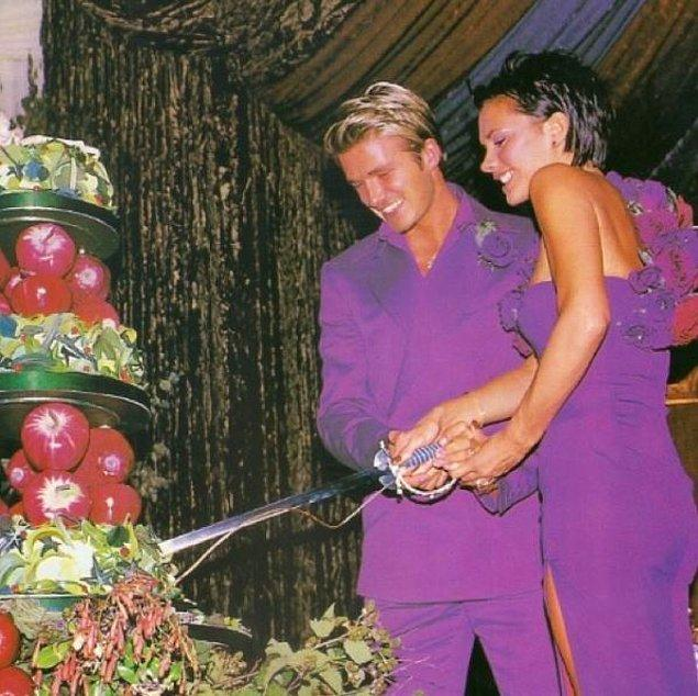 7. Victoria ve David Beckham (1999):