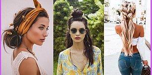 Yaz Geldi Diye Artık Daralmak, Oflamak Yok! Uzun Saçlı Kadınların Severek Kullanacağı Birbirinden Havalı 15 Saç Modeli