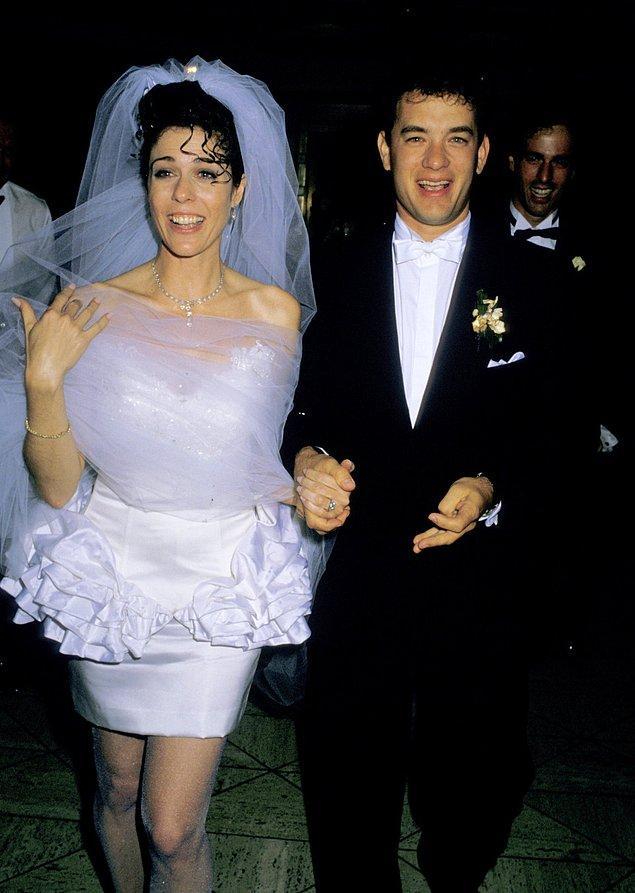 11. Rita Wilson ve Tom Hanks (1988):