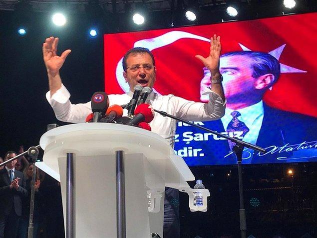 Yüksek Seçim Kurulu'nun tepki çeken bu kararının ardından, gözler Ekrem İmamoğlu'na çevrildi.