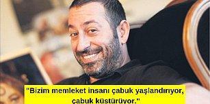 Cem Yılmaz'dan Türkiye'nin Durumundan, Kendi Hayatına ve Yaşama Dair 15 Tespit