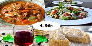 'Akşam İftara Ne Pişirsem?' Diye Düşünmeyin! Ramazan'ın 4. Günü İçin İftar Menüsü Önerisi