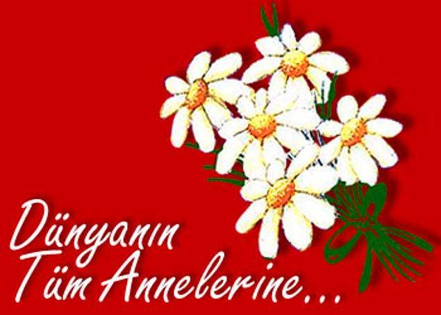 1955 - Anneler Günü, Türkiye'de ilk kez kutlandı.
