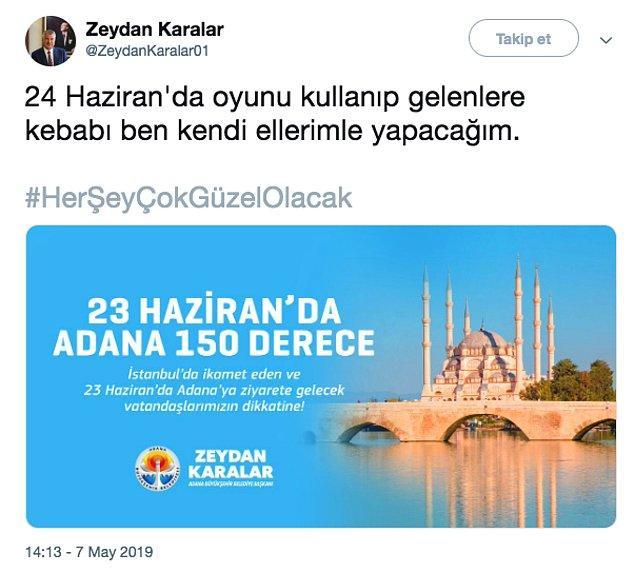 29. Ve Adana yine bildiğiniz gibi... 😂