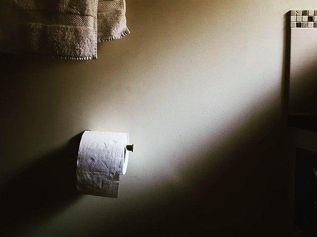 18. Bir rulo tuvalet kağıdı bile bir sanat eseri gibi görünebilir.