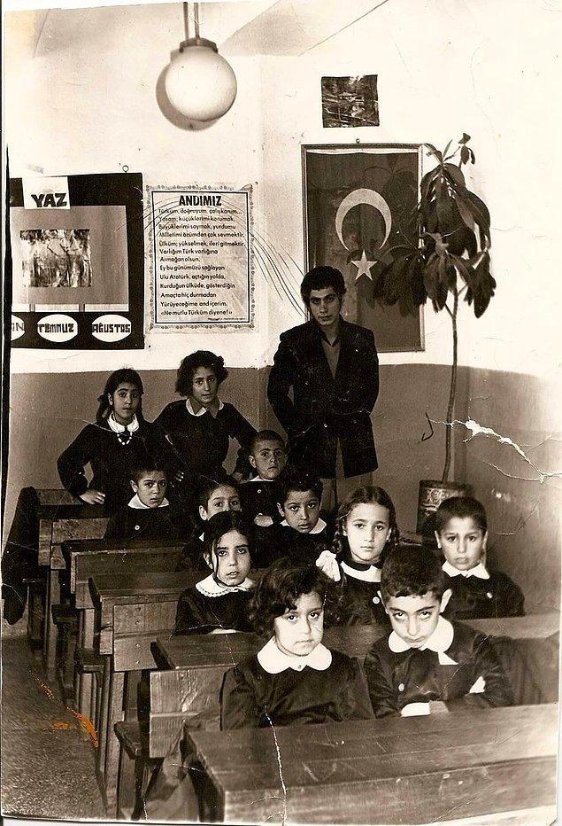 2. Cumhuriyet İlkokulu, Muş, 1975.