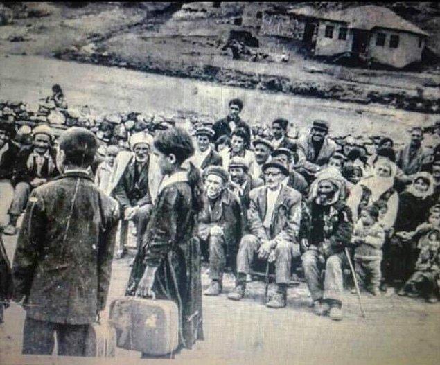 10. Hınıs Şahverdi Köyü'nde 23 Nisan kutlamaları, Erzurum, 1965.