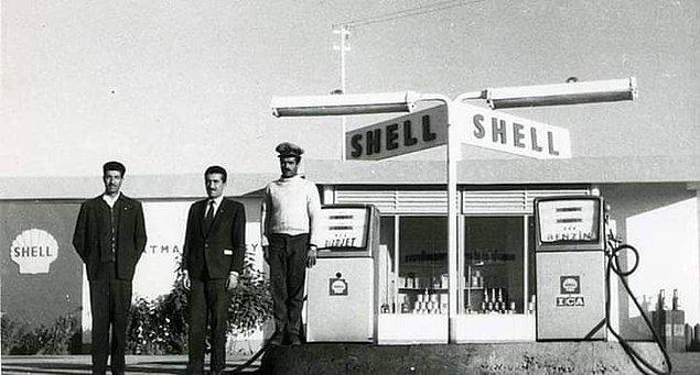 13. Şehrin ilk benzin istasyonu, Batman, 1950.