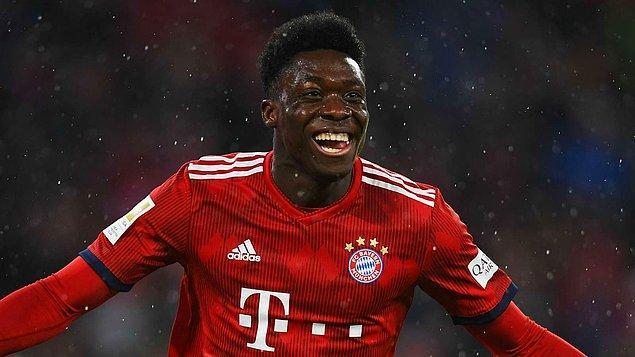 30. ALPHONSO DAVIES - Bayern Münih