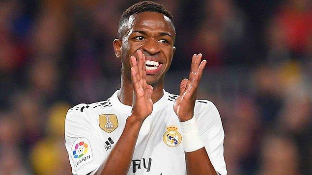7. VINICIUS JUNIOR - Real Madrid