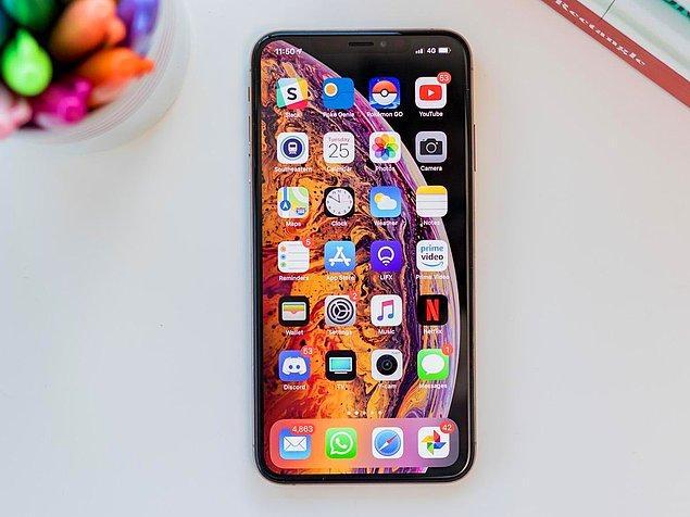 2019 iPhone XS Max (64 GB) 10.288 TL KDV dahil