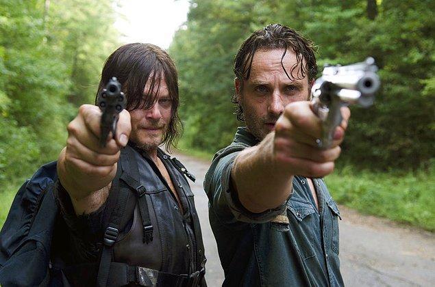 1. The Walking Dead, ilk 8 sezonuyla Netflix Türkiye'ye eklendi.