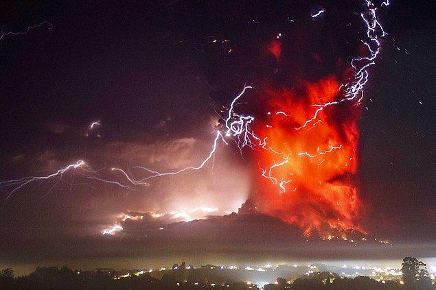 20. Şili'de 137 tane yanardağ vardır.
