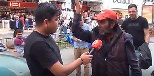 İlave Tv Mikrofonuna Konuşan Vatandaş: 'Soğanı Çöpten Aldım, Yıkayıp Yiyeceğim'