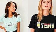 Bir Kot Bir Tişört Takılmayı Seven Kadınların Bayılacağı Birbirinden Güzel Yüzlerce Tişörtü Bir Araya Getirdik!