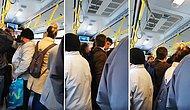 Otobüste Kendisine Yer Vermedi Diye Bir Gence Tokat Atan Yaşlı Adama Tepkisini Dile Getirirken Takdir Toplayan Vatandaş!