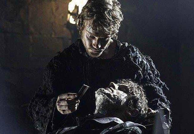 2. Robb'un ölüm haberiyle yıkılması...