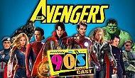 Avengers Filmi Bundan 20 Yıl Önce, 1990'ların Efektleriyle ve Oyuncularıyla Çekilseydi Nasıl Olurdu?