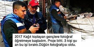 Adana'da Kağıt Toplayan Gençlere Fotoğraf Çekmeyi Öğreterek Onların Hayatlarını Değiştiren Mustafa Gülek'i Mutlaka Tanımalısınız!