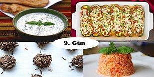''Akşam İftara Ne Pişirsem?'' Diye Düşünmeyin! Ramazan'ın 9. Günü İçin İftar Menüsü Önerisi